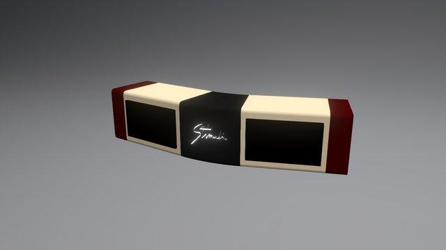 Home-made Bluetooth speaker 3D Model