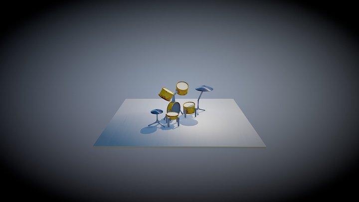 Bateria 3D Model