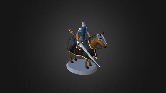 (ANIM) Acquisition Cavalry 3D Model