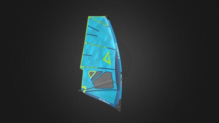 Gun Sails Seal Membrane 3D Model