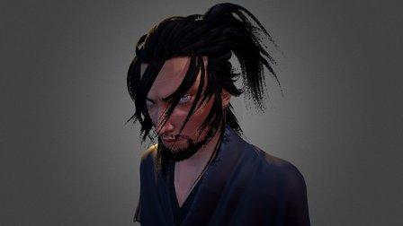 Musashi Miyamoto - V2 3D Model