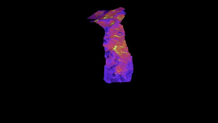 Modelo_3D_Z35_Echadero_Timanfaya_IH_Ver01 3D Model