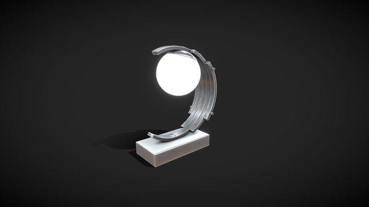 Lamp Art Deco 02 3D Model