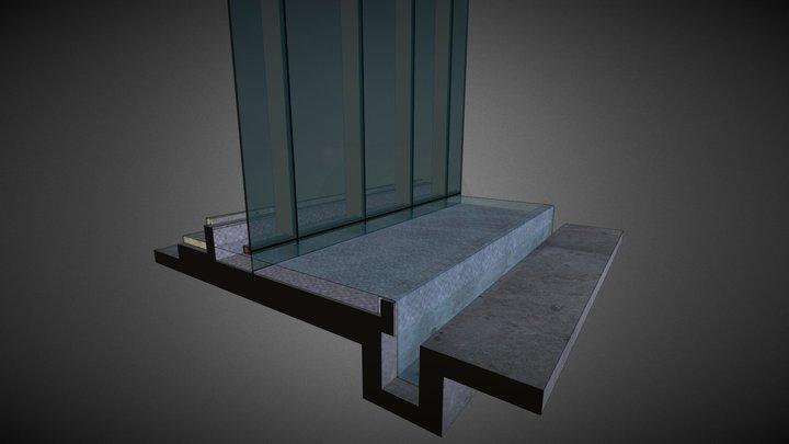 Podium Facade @ Pools - Option 1 3D Model