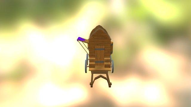 Haendlerkarren 3D Model