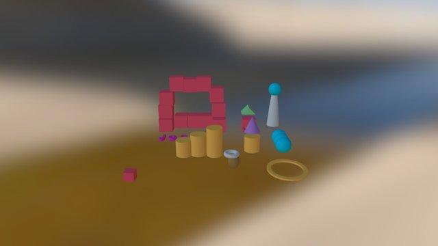 1mighty Leelo-jaagub 3D Model