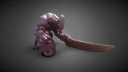Swordy 3D Model