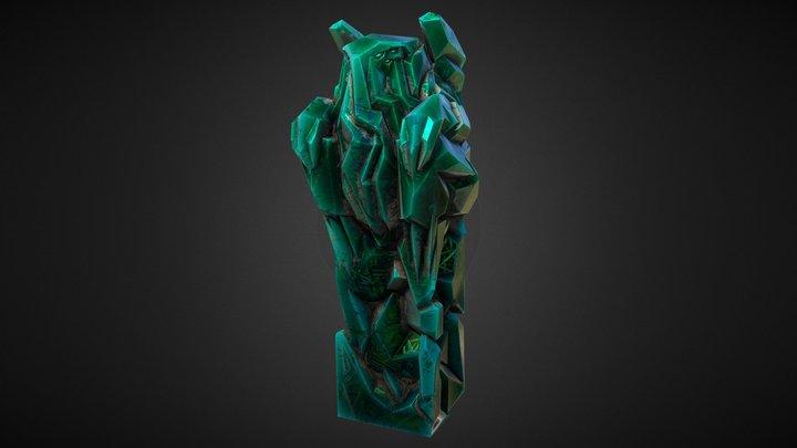 Cthulhu statuette 3D Model