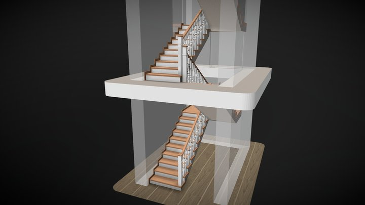 Истландия по бетону 3D Model