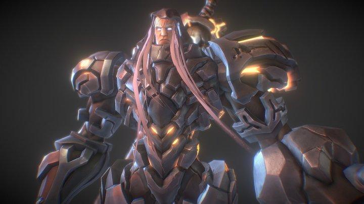Darksiders War (Fan art) 3D Model