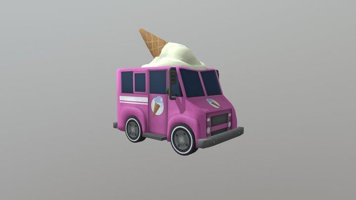 Ice Cream Hop 3D Model