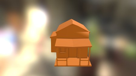 Western Building M 3D Model