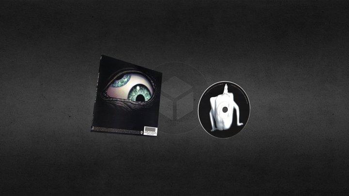 Portada CD 3D Model