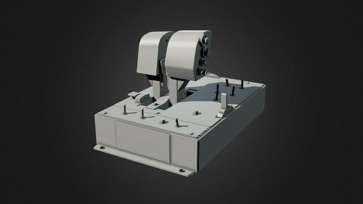 Thrustmaster Warthog Thruster Game Res 3D Model