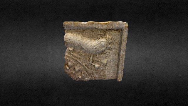 Кахля (фрагмент). XVII - XVIII ст. Київ. 3D Model