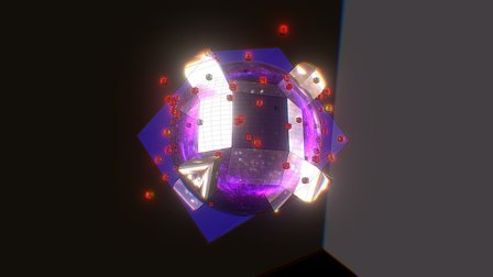 Particle Thruster 3D Model