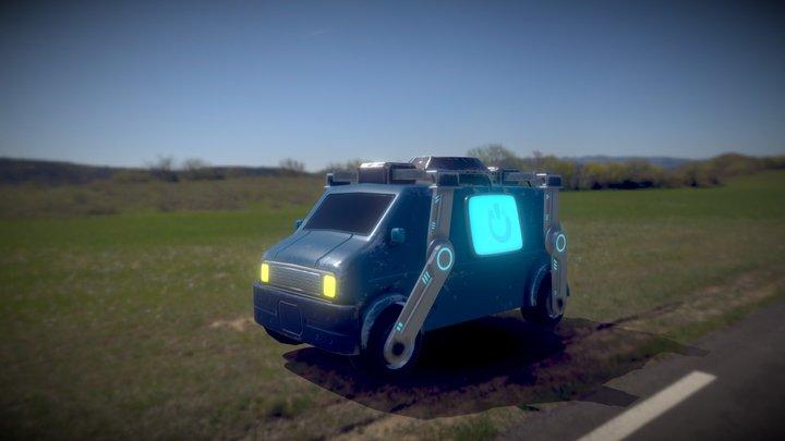 Reboot Van [FORTNITE] 3D Model