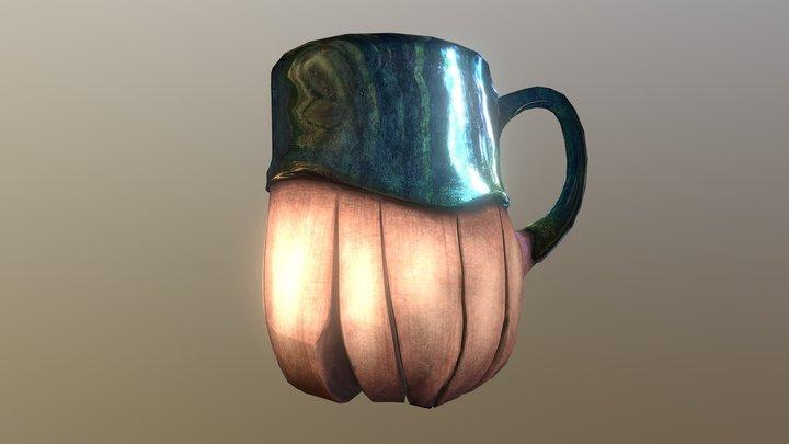 IMC Clay Tea Mug 3D Model
