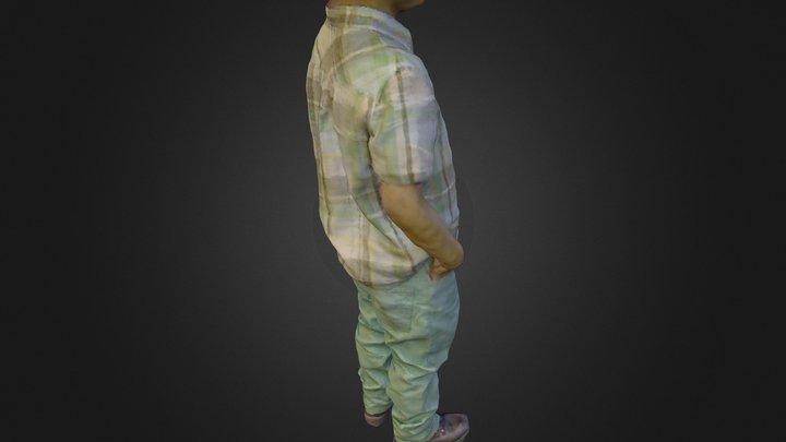 Modelo niño 3D Model