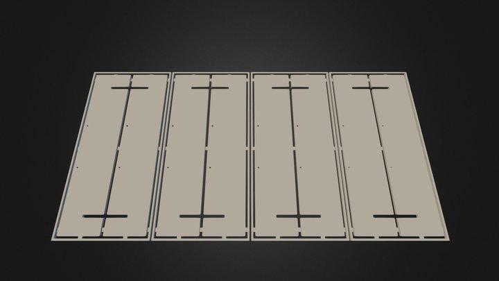 Gro Square - v0.6 - 3D Nesting - 705 Inch 3D Model