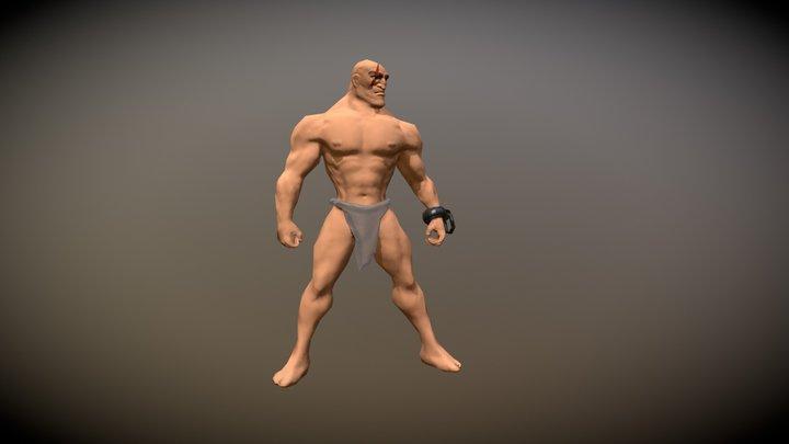 Barbarian starter otfit 3D Model