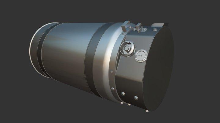 LNG High-poly V1 3D Model