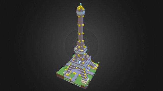 L'Effie Tower 3D Model