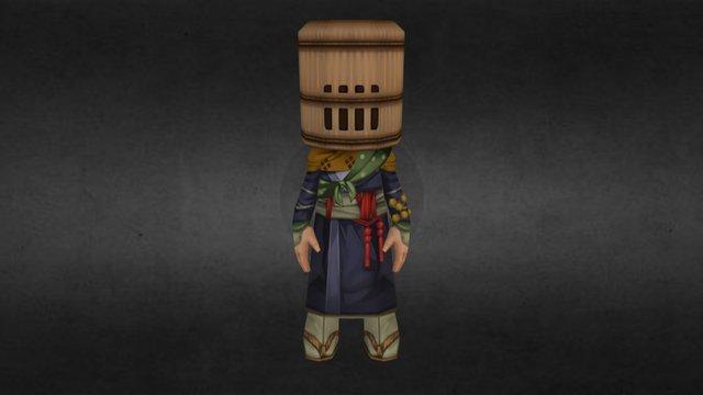 Ninja Male Super Rare 3D Model