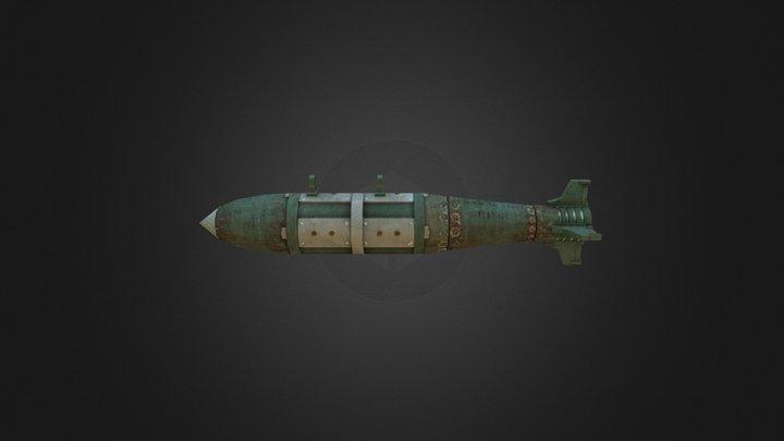 Rocket Bomb Low 3D Model