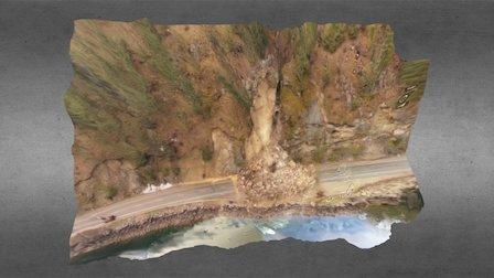 Lake Chelan Rockfall 3D Model