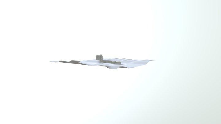 Psycho 3D Environment 3D Model