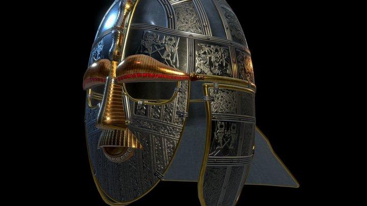 Sutton Hoo Helmet 3D Model
