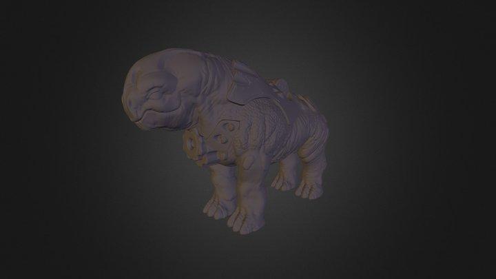 Megarian 3D Model