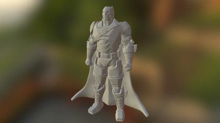 Batman Dawn Of Justice 3D Model