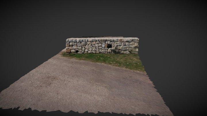 New stone wall 3D Model