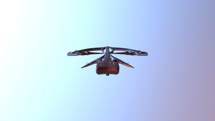 Crossbow Original design 3D Model