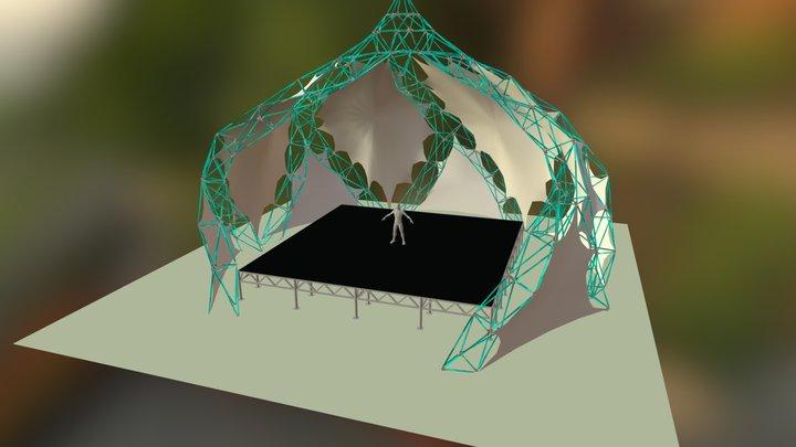 Luminous Stage 3D Model