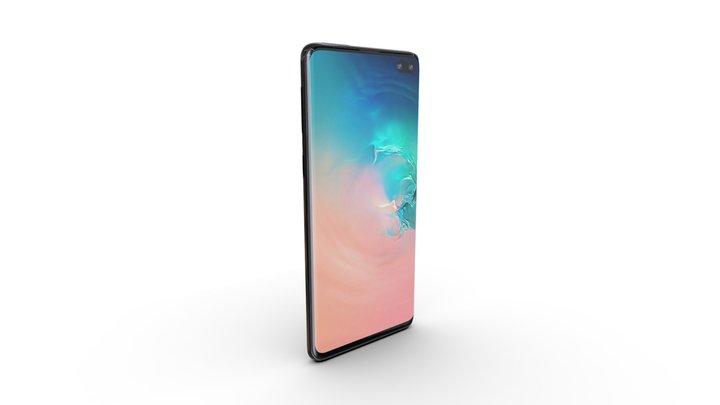 Samsung S10+ 3D Model