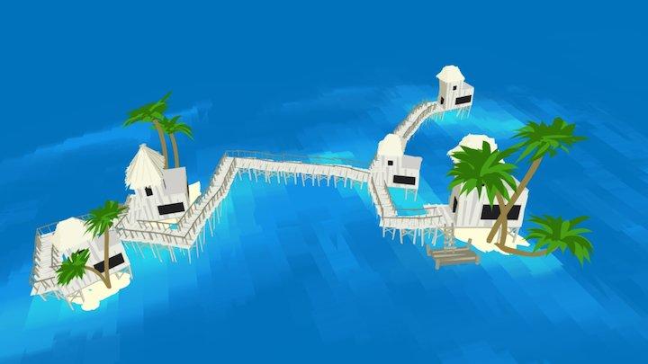 QuillArt: Paradise 3D Model