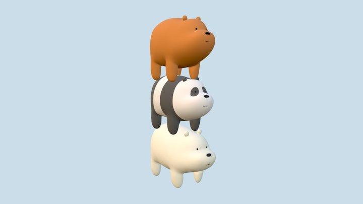 Bear Stack 3D Model
