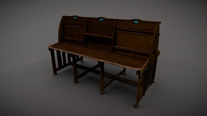 Periodical Desk - MC/F/073 3D Model