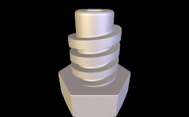 pé 3D Model