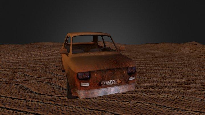 Fiat126p 3D Model