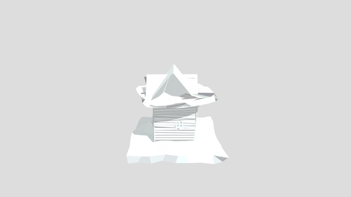 the most broken house 3D Model