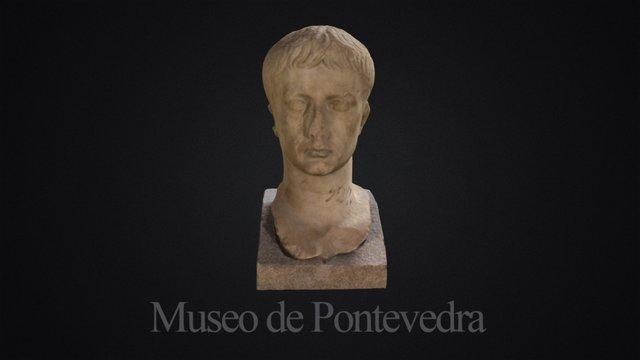 Retrato del Emperador Augusto 3D Model