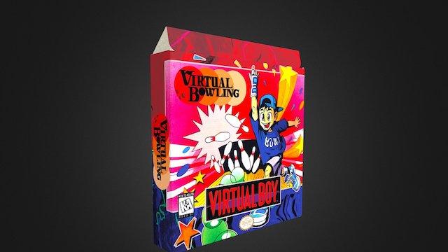 Virtual Bowling Box 3D Model