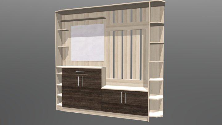 Hallway cabinet 3D Model