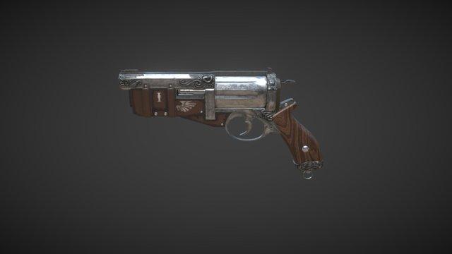 Marcus Gun 3D Model