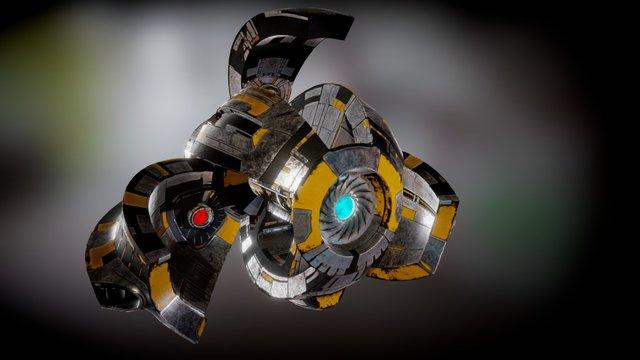 Alien Drone 3D Model
