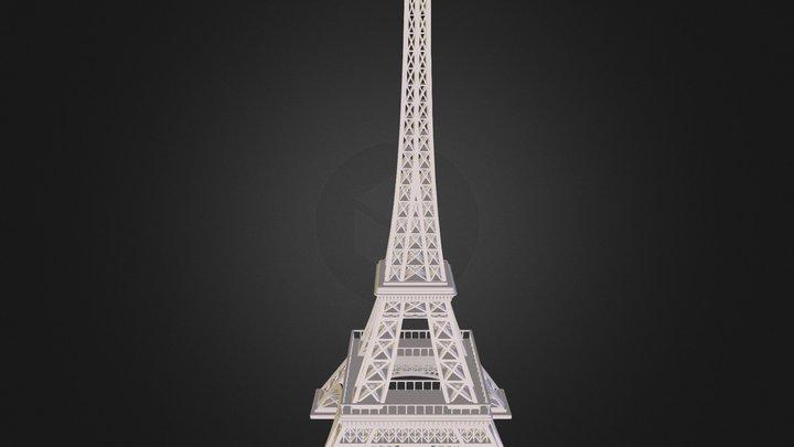 Eiffel Tower Fixed 3D Model